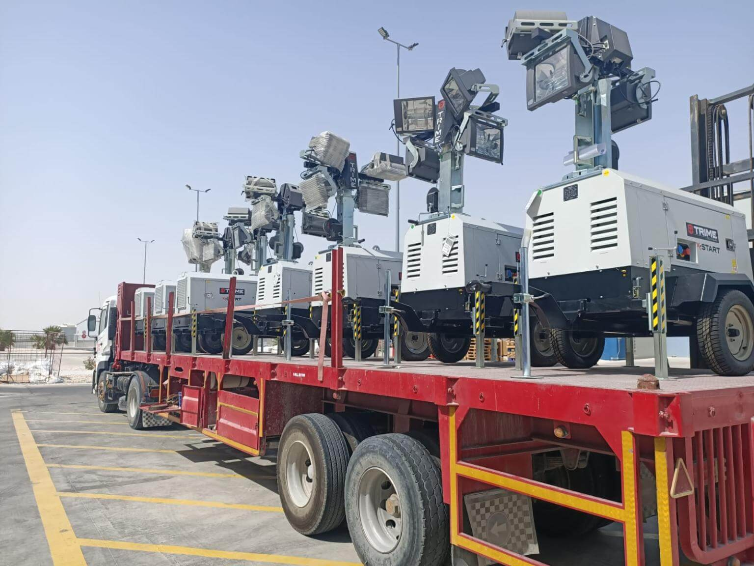 Jaidah Industrial Supply division successfully delivers 13 units of Trime tow...<